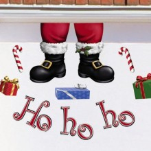 Hohoho Christmas Garage Magnets Decoration