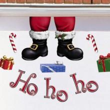Hohoho Christmas Garage Magnets Decoration