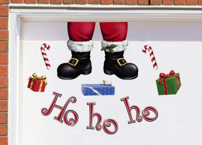 Hohoho Christmas Garage Magnets Decoration Christmas