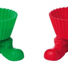 Santa Boot Silly Feet
