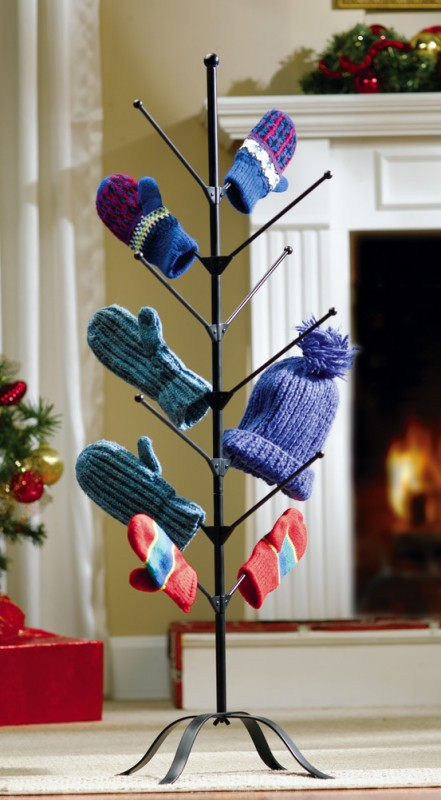 Winter Accessories Drying Tree for Gloves, Mittens, Socks, Hats