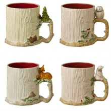 Road 16-Ounce Winter Wilderness Mug