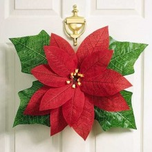 POINSETTIA DOOR