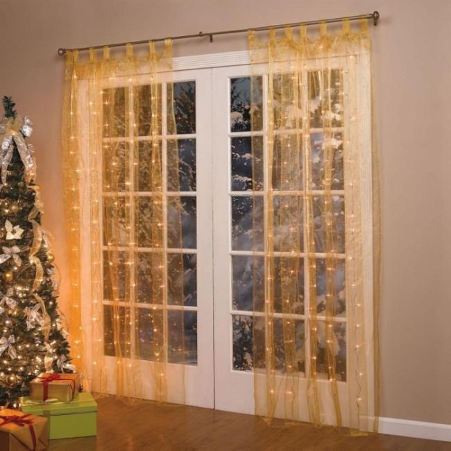 Pre-Lit Curtain Panel