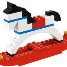 LEGO Christmas Rocking Horse