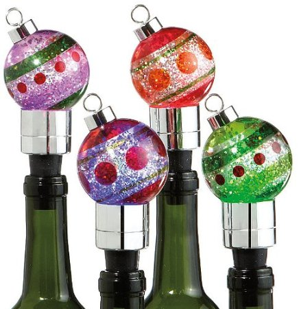 - Ornament Bottle Stoppers