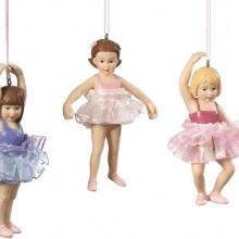 Child Ballerina Ornaments