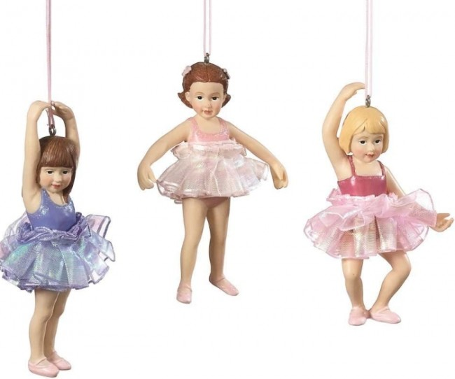 Child Ballerina Ornaments
