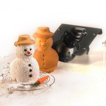 Snowman Cake Pan Baking Mold