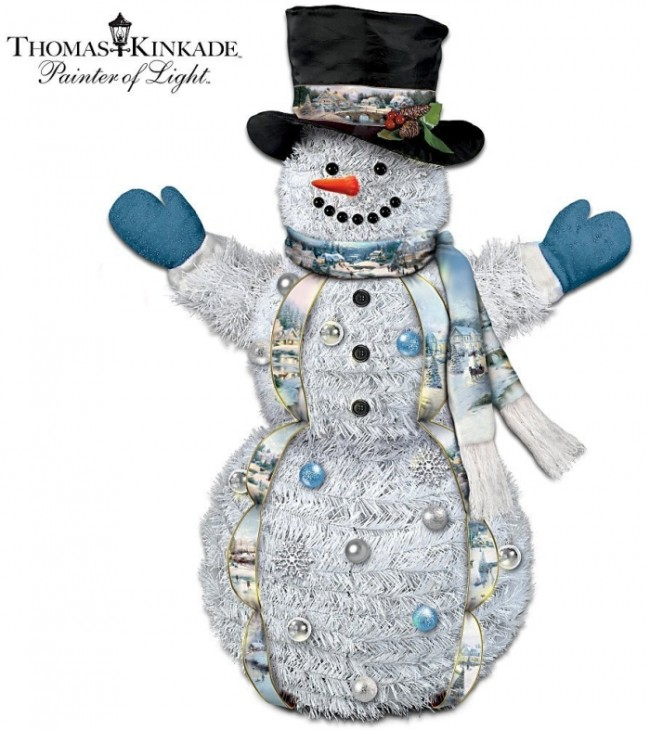 Thomas Kinkade Welcome Winter Pre-Lit Decoration