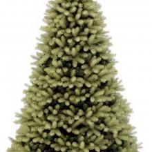 Douglas fir christmas tree decorated cookies