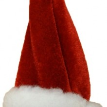 santa Hat Wine Bottle Stopper