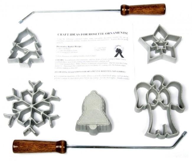 Kitchen Supply Rosette Iron Kits