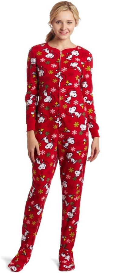 Warm Footie Pajama Christmas