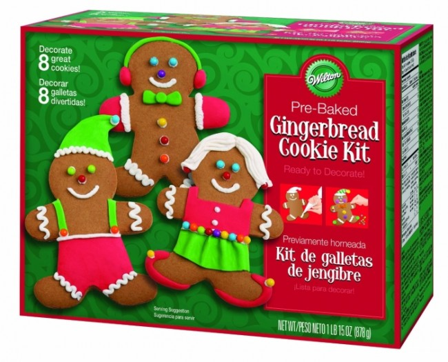 Holiday Gingerbread Boy Cookie Kit