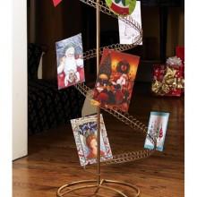 Spiral Holiday Tree Christmas Card Holder