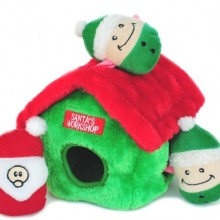 Squeaky Plush Hide-and-Seek Dog Toy