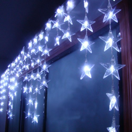Star Shape Led Curtain Light Holiday Fashionable Lights