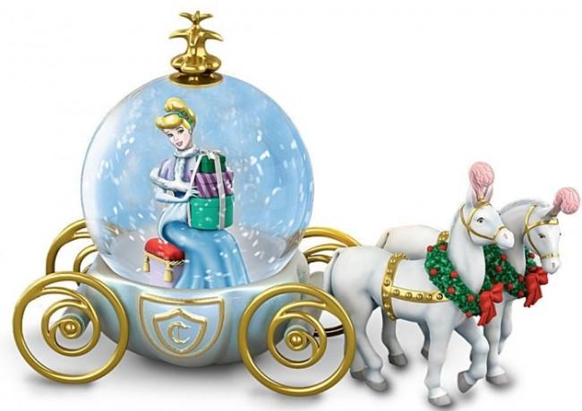 Disney Miniature Cinderella Snowglobe