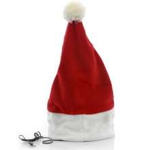 Santa Claus Hat With Built-in Headphones