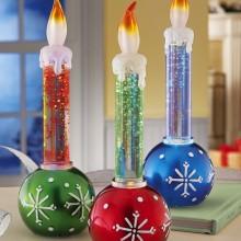 Holiday Ornaments LED Candle Set