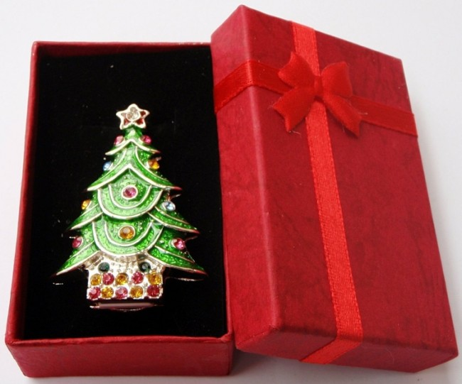 Christmas Tree Keychain 4GB USB