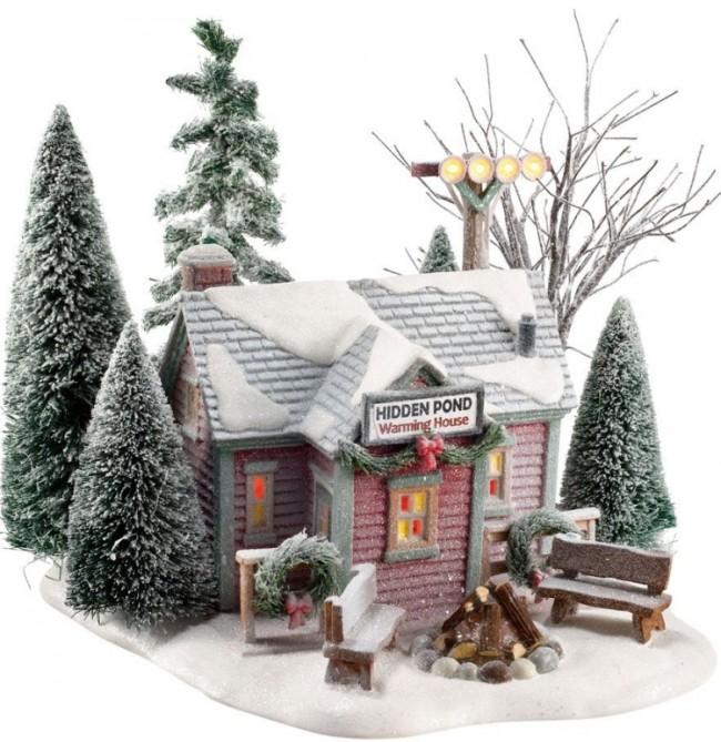Hidden Pond Warming House
