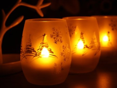 Votive LED Candles with Remote