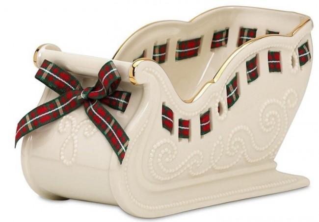 Christmas Giftables Sleigh Candy Dish