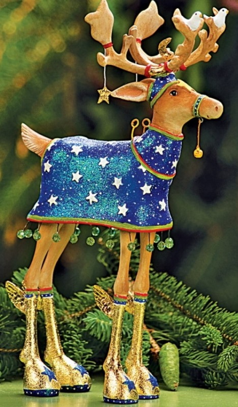 Dash Away Blitzen Figure