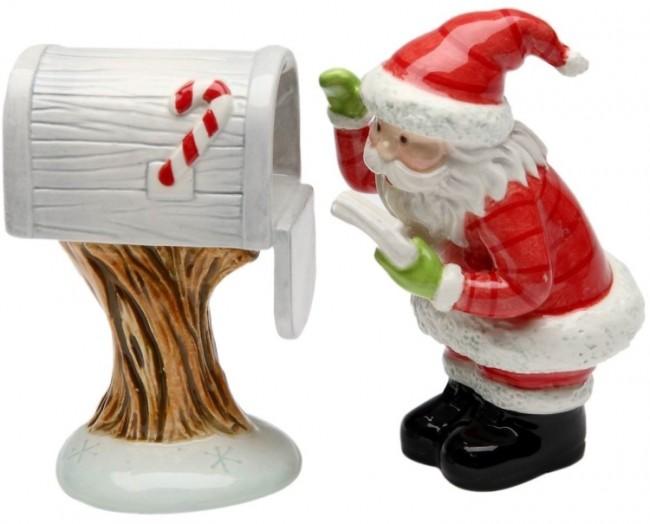 Design Mail for Santa Salt and Pepper Set