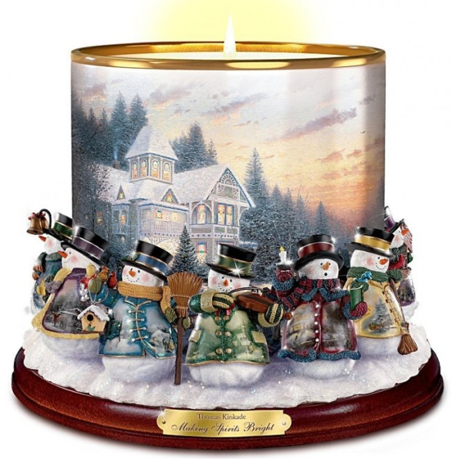 Making Spirits Bright Candleholder