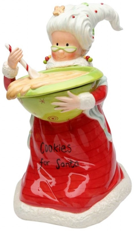 Mrs. Claus Cookie Jar