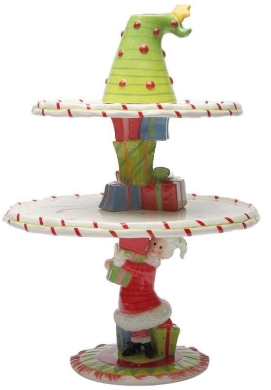 Mrs. Claus StackinIt Up Cake Stand Set