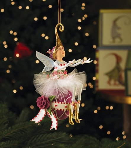 Patience Brewster Sugar Plum Fairy Ornament 2013