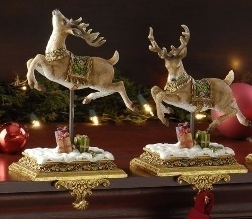 Reindeer Christmas Stocking Holders