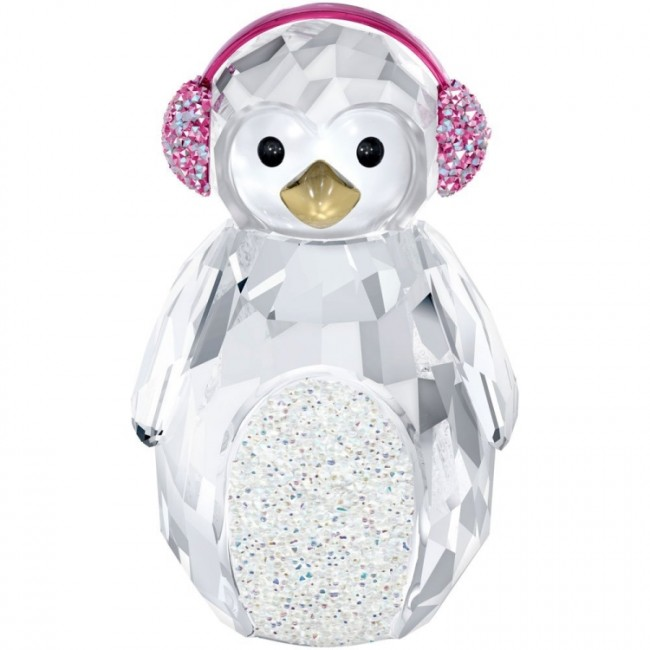 Swarovski Crystal 2013 Rocking Penguin Figurine