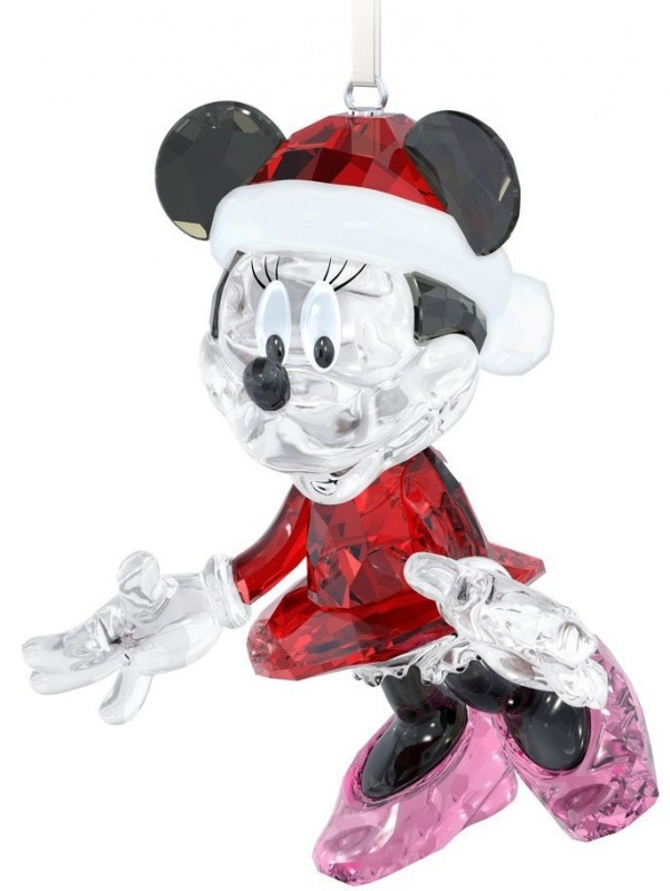 Swarovski Minnie Mouse Christmas 2013 Ornament