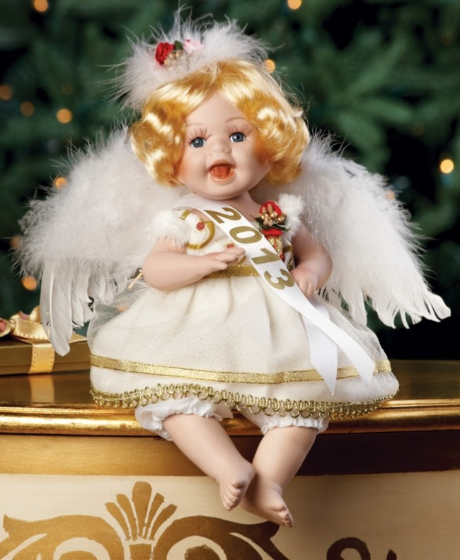2013 Holiday Angel Baby Collectible Doll