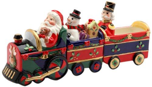 Christmas Train Magnetic Salt and Pepper Shaker