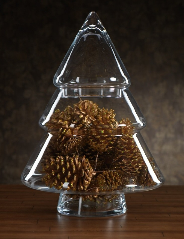 Christmas Tree Jar