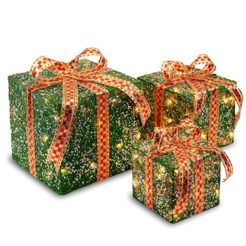 IndoorOutdoor Assorted Sisal Gift Boxes Set