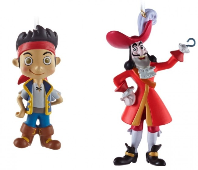 Jake and The Neverland Pirates Captain Hook Christmas Ornaments