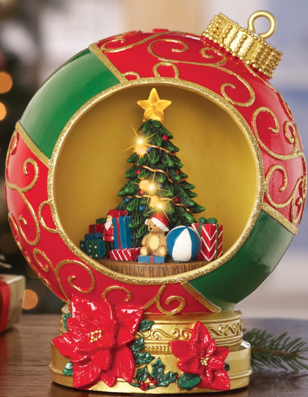 Lighted Holiday Ornament Decoration
