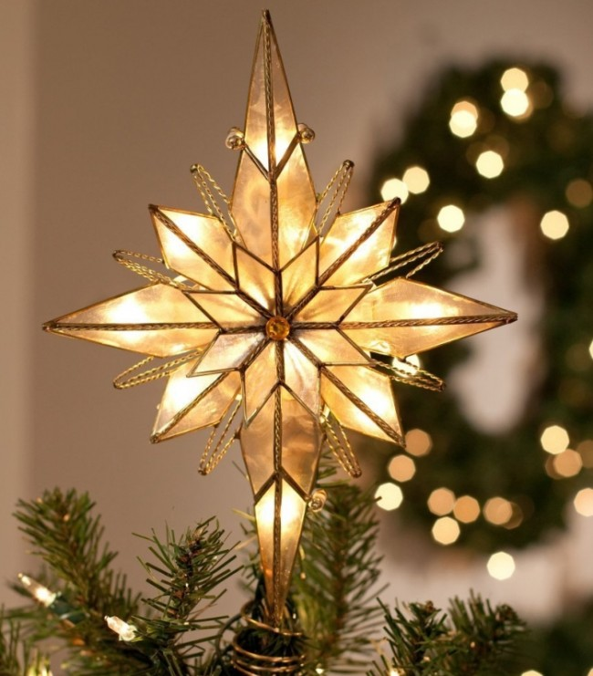 Multi Point Bethlehem Star Tree Topper