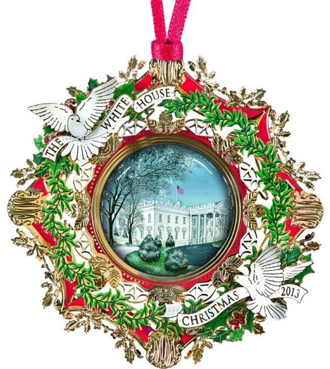 Official White House Christmas Ornament
