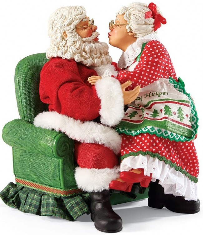Possible Dreams Santas All I Want for Christmas Santa Figurine