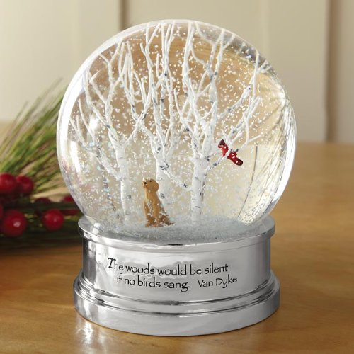The Woods Snow Globe