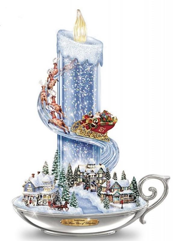 Thomas Kinkade Christmas Cottage