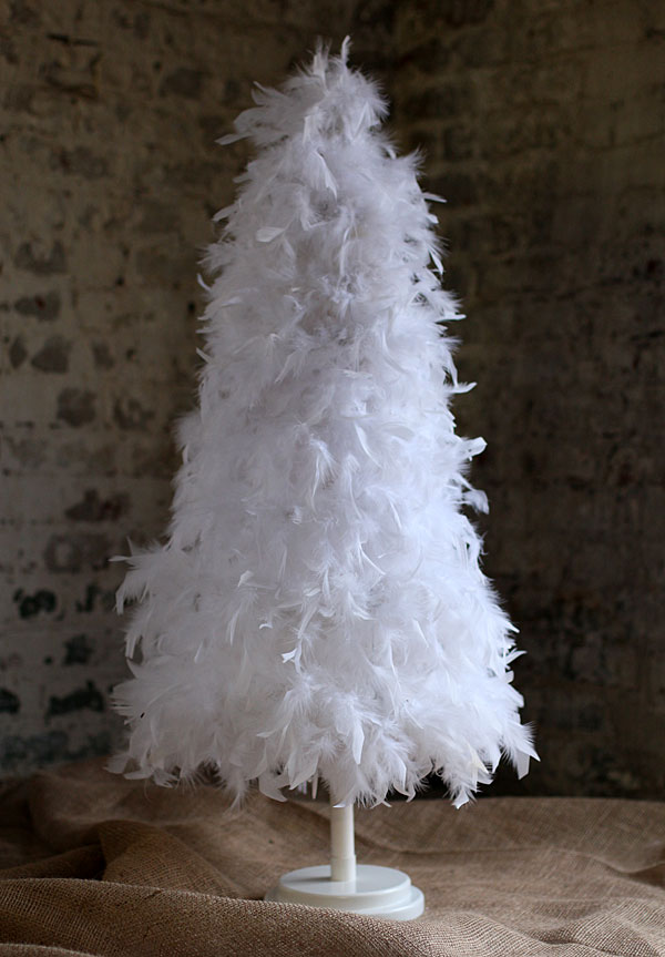 Feather Trees: Yesterday's Christmas Decor, Today By Marie Proeller Hueston A century-old tradition, these artificial Christmas trees continue to charm homeowners and DIY enthusiasts alike.